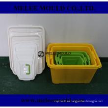 Пластик оснастки для коробки контейнера прессформы Отливая в форму