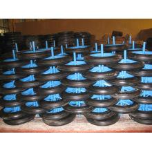 Использование твердых колесо 13 дюймов для тачку