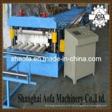 Bodenplattform-Platten-Rolle, die Maschine bildet (AF-F712)