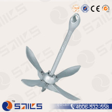 Galvanized Type a Cast Boat Fold Anchors