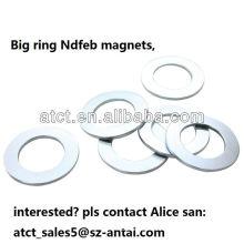 High Quality Ring Neodymium Magnet/ big ring magnets