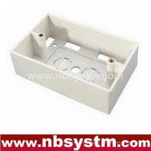 Caixa traseira, para placa frontal tipo 120, tamanho: 70x115x36mm