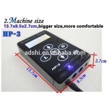 Un héritage HP-3 numérique complet de haute qualité, une version simple de l'alimentation professionnelle de la machine à tatouer
