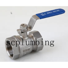 "1/4""~3"" 2PC Screwed End Ball Valve"
