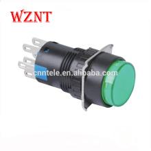 двухцветный мини-кнопочный переключатель с подсветкой