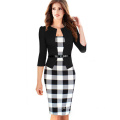Woman Elegant Slim Office Dress Casual Party Evening Dress