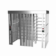 Turnstiles with 600mm pole length and 24V DC drive unit