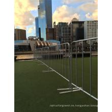 Barreras de control galvanizadas de alta calidad de la muchedumbre para la venta