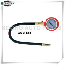 Long Chuck Dial Tire Pressure gauge