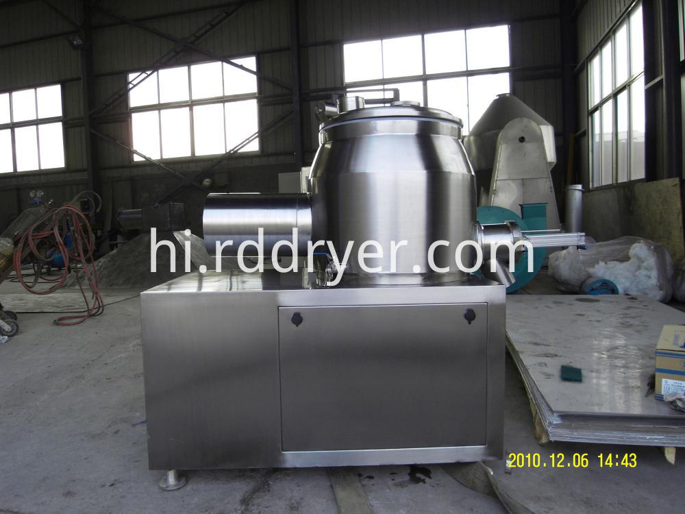 GHL Series High Efficiency Wet coating rapid mixer granulator