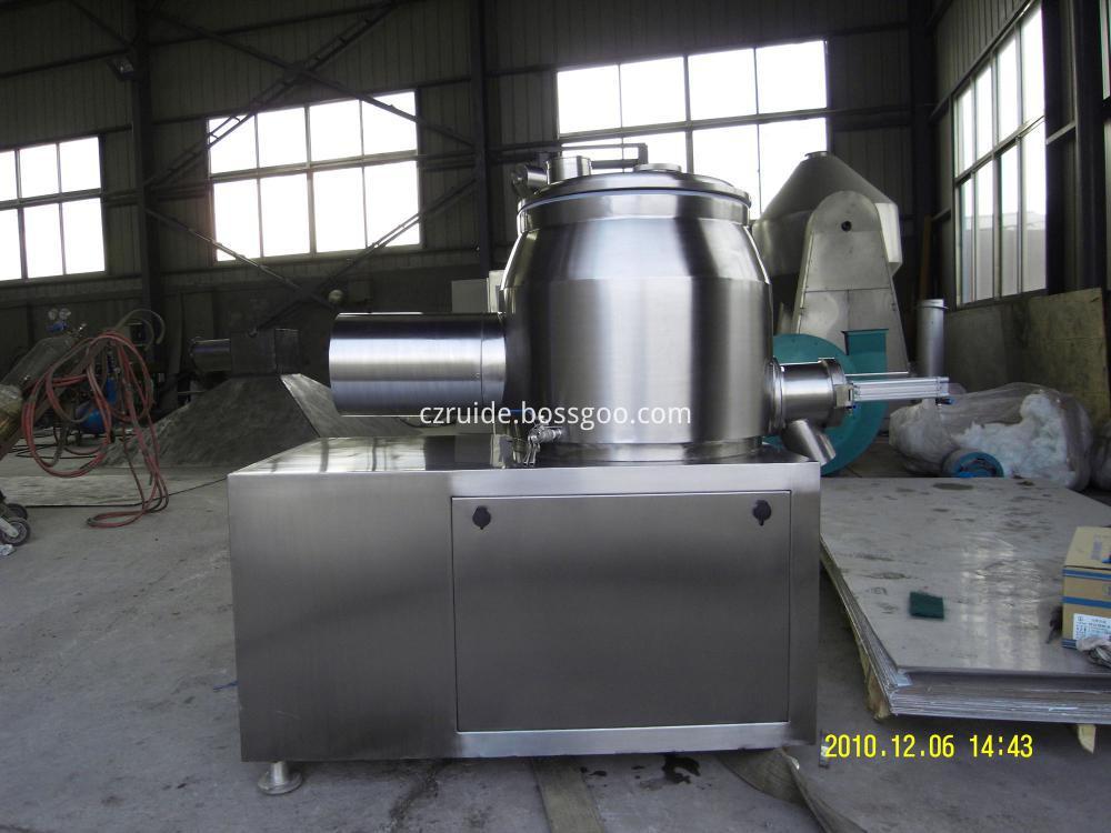 model GHL series high efficient coffee granule wet mixing granulator