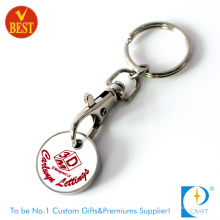 Custom Supmarket Iron Trolley Coin Keychain (KD0775)