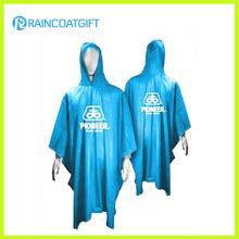 Werbe 100% PVC-Kapuzen-Regenmantel (RPE-167)