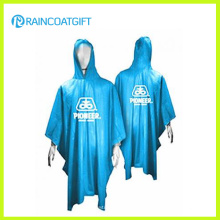 Promotional 100% PVC Hooded Raincoat (RPE-167)