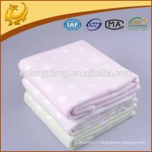 Fabricant de couverture en Chine 100% Couverture de coton, Grossiste