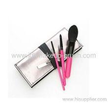 Candle Head 3pcs Makeup Travel Brush Set