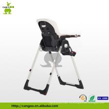 Compacta y portátil plegable peso ligero cena de bebé silla alta