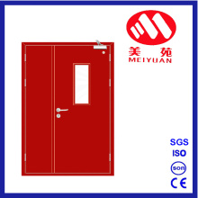 Fire Steel Door with Glass, Son-Mother Door