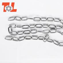 Cadena de acero inoxidable 316 Cadena corta de acero larga