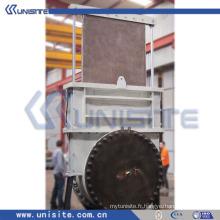 Vanne marine hydraulique à haute pression en acier (USC-10-015)