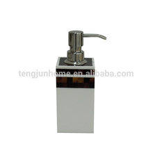 pen shell liquid soap dispenser metal pump