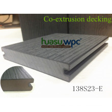 Impact Resist Decking Planken Co-Extrusion WPC-Boden für Outdoor-Pflaster