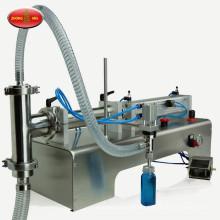 Remplissage semi-automatique vertical eau simple tête huile de lait huile pommade miel liquide remplissage liquide