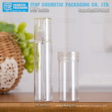 120ml 150ml hot-vente bonne qualité couleur personnalisable respectueux de l'environnement autour de bouteille en plastique d'animal familier