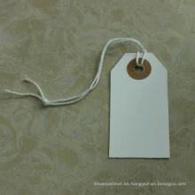 Etiquetas colgantes en blanco de venta caliente