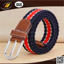 OEM High Quality Leather Sport Jeans Male Elastic Fashion Belt