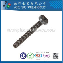 Mader en Taiwán Acero Inoxidable Acero al Carbono Phillips Drive Cabeza de Queso Aumentado Zinc Plated Machine Screw