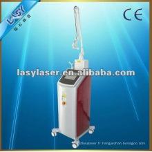 Machine technique de clinique de beauté à laser fractionnée au CO2