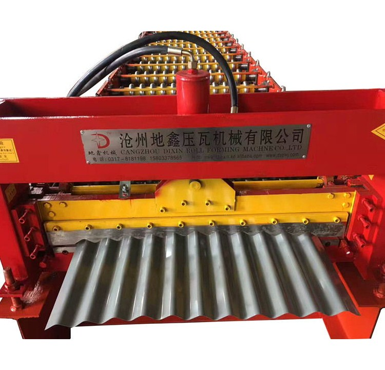 DX Corrugated iron sheets machine