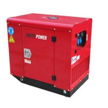 Stiller tragbarer Diesel-Doppelzylinder-Maschinen-Generator 10kw