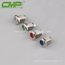 Lámpara de señal de metal MQ12N / FJ (terminal de soldadura o tornillo)