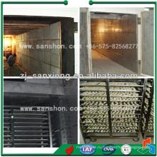 Усовершенствованные загрузочные лотки для материала SSJ Vegetable Tray Dryer