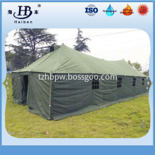 Military style heavy waterproof canvas fabric for tents