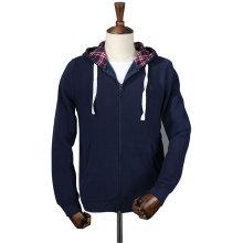 Простой оптовая продажа индивидуальные мода мужская флис hoodie спортзала