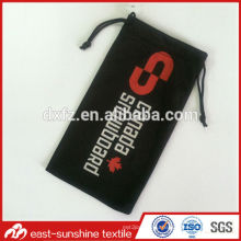 custom microfiber black microfiber bag,custom black microfiber bag,logo black microfiber bag