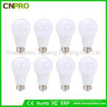 Ampoule en gros 9W avec 110lm / W CRI> 80 2 ans de garantie