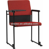2014 Modern Linking Training Chair with tablet A304-R01,meeting chair ,Stacking Chair