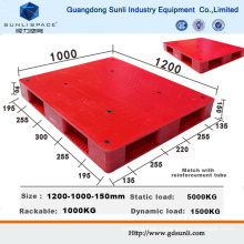 Double Faced HDPE Injection Standard Plastic Pallet