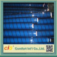 Vinyl Transparent Film Branco Cor Azul Cor