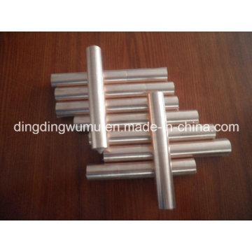 Électrode de barre ronde de tungstène de cuivre pour l'EDM
