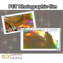 PET Holographic Film
