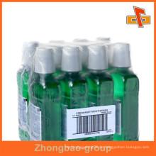 Kunststoff-Schutz-PE-Blasfolie für Mundwasser-Bundle-Verpackung