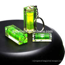 1 bubble level indicate level gift bubble key chain spirit level