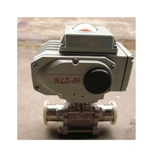 Electric Stainless Steel Sanitary Ball Valve with Clamp End