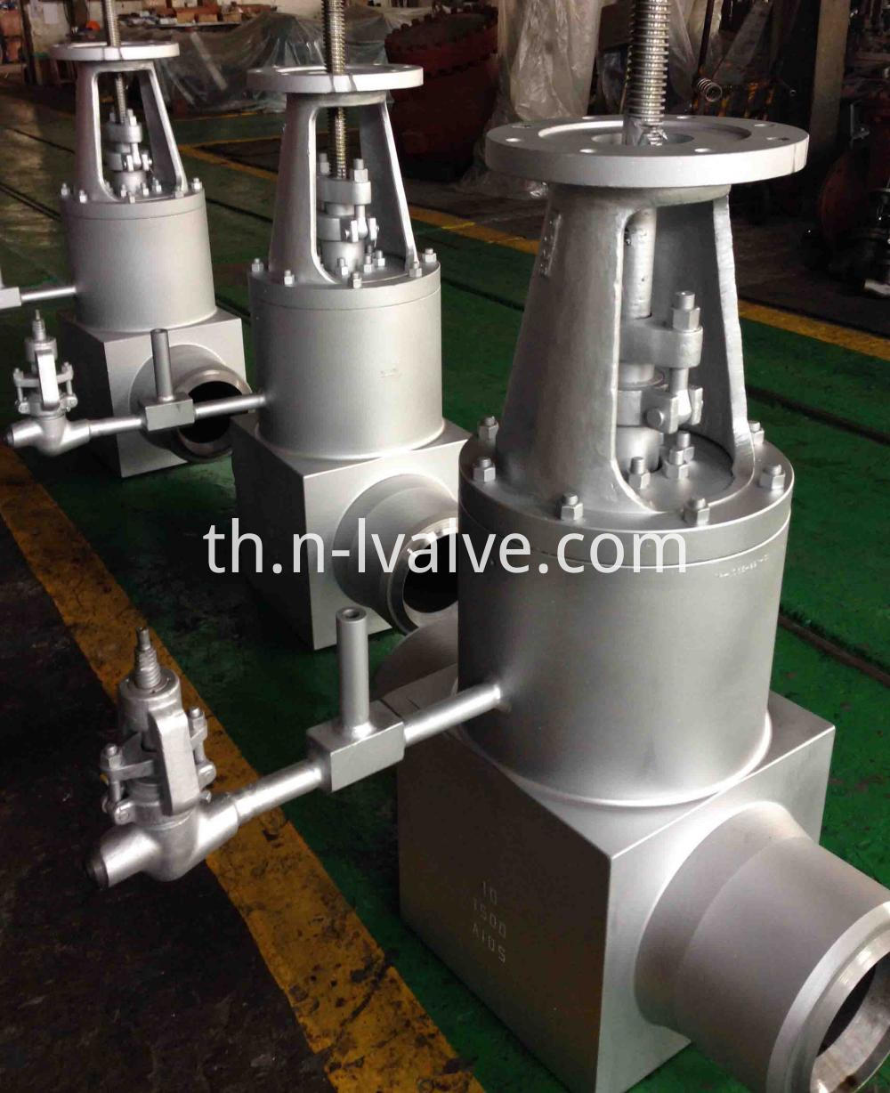 Class 1500 Forged Steel High Pressure Gate Valve With Bypass