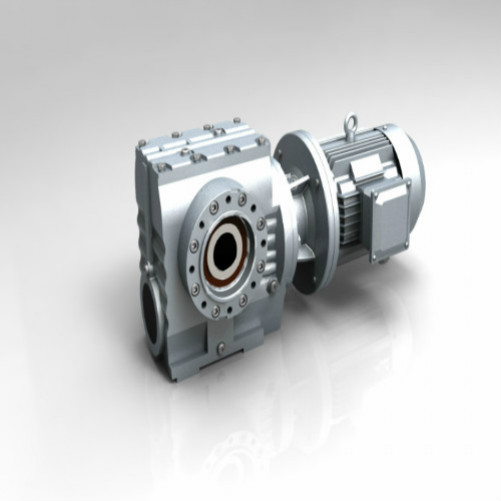Rendah Output Helical Worm Gear Motor Speed ​​Reducer